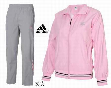 Pas Jogging Cher gilet Rose survetement Femme Ensemble Adidas L54jAR